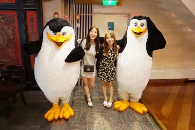 マリナーオブザシーズプロムナードペンギンと