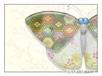 蝶々の素材
