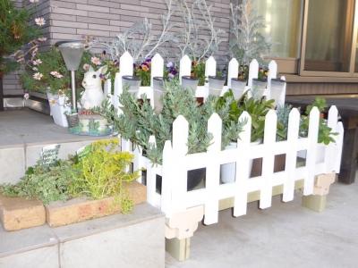 花台を作りました!