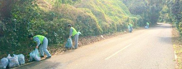 鈴木建設 清掃活動 清掃ボランティア イシンホーム千葉東総 千葉県 旭市