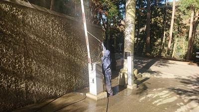 鈴木建設株式会社 イシンホーム千葉東総 地域貢献 清掃ボランティア 猿田神社