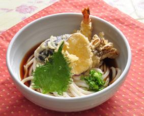 tenpura  udon  天ぷらうどん