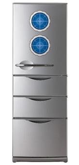 松本零士風冷蔵庫