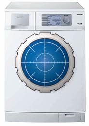 松本零士風洗濯機