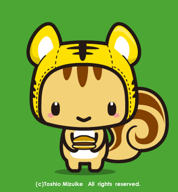 虎頭巾ちゃん