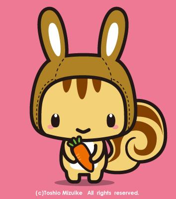野うさぎ頭巾 キャラクター