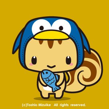 ペンギン頭巾