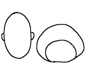 バナナマン 似顔絵 描き方