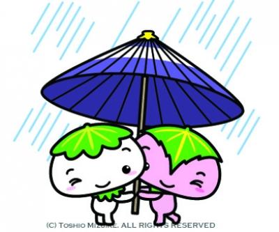 和傘 イラスト wa kasa