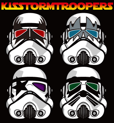 KISS   starwars   STORMTROOPER