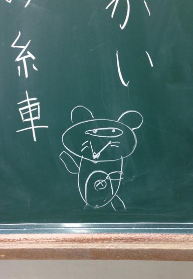 タヌキの糸車 小学校