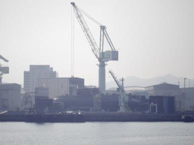 kobe 港 神戸港 三菱 潜水艦