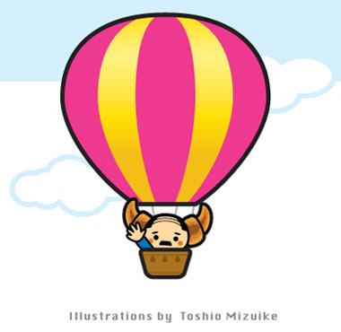 気球 イラスト キキュウ