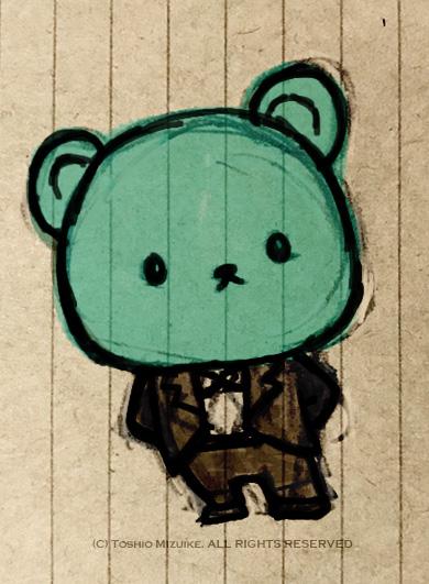 タキシード熊