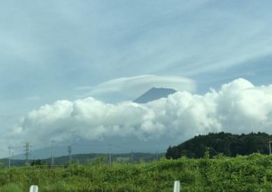 駿河沼津  富士山