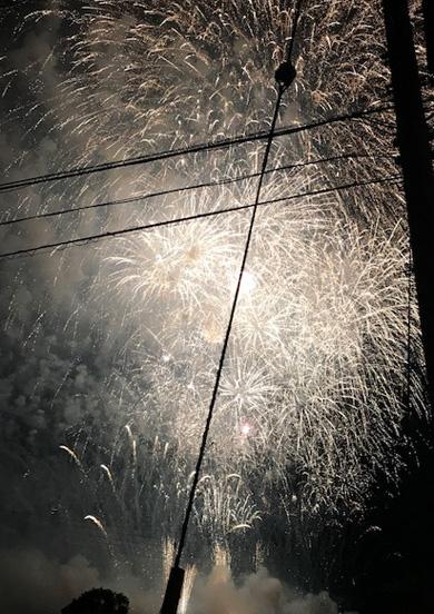 小野祭り 花火