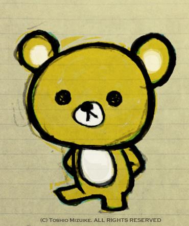 ちびくま 熊キャラ オリジナル イラストレーター