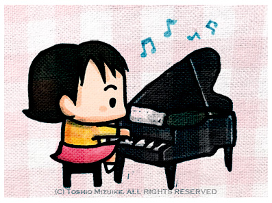 ピアノ イラスト