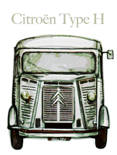 Citroën Type H  type-h-70th