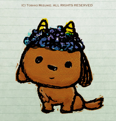 koinu  子犬 イラスト