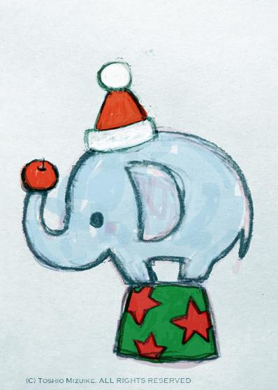 クリスマスのぞうさん