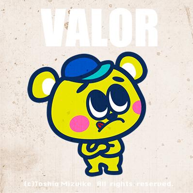 VALOR   character  JAPAN