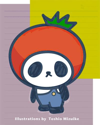 プチパンダ ぱんだ panda イラスト かわいい