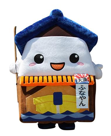 ふなやん キャラクターデザイン 京都 キャラクター