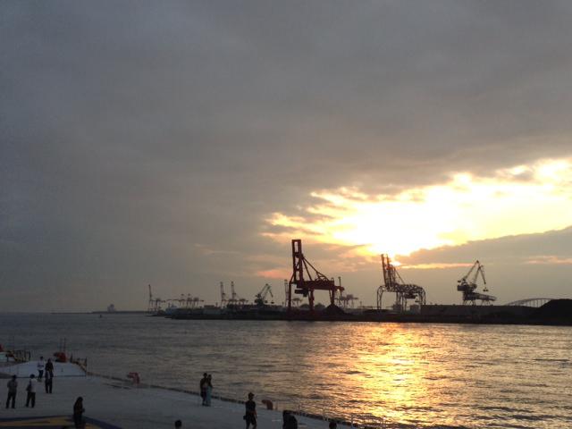 天保山 大阪港