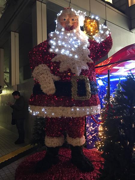 ドイツクリスマスマーケット サンタクロース イルミネーション 電飾