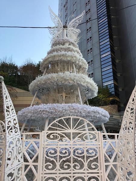 なんばパークス クリスマスツリー 大阪 難波