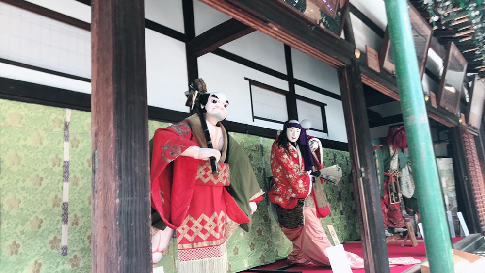大阪天満宮 御迎え人形