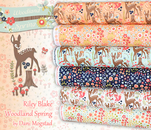 Riley Blake Woodland Spring