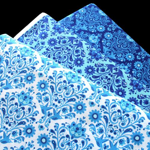 Moda Fabrics On The Wing Daisy Damask