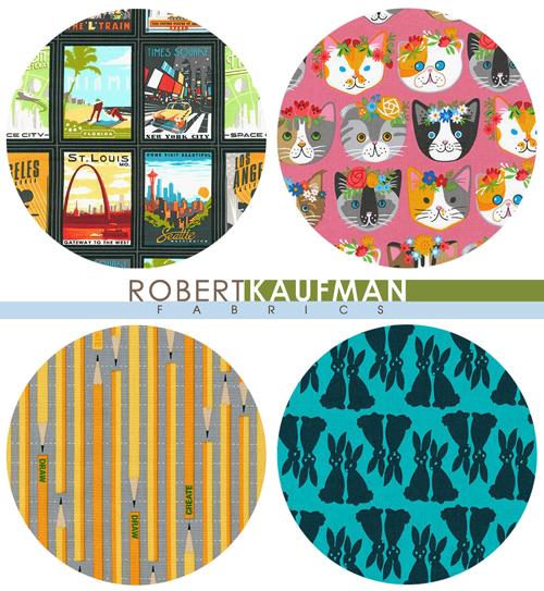 Robert Kaufman の生地