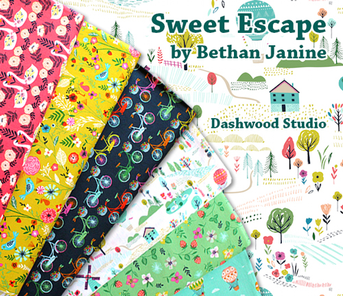 Dashwood Studio Sweet Escape Collection by Bethan Janine