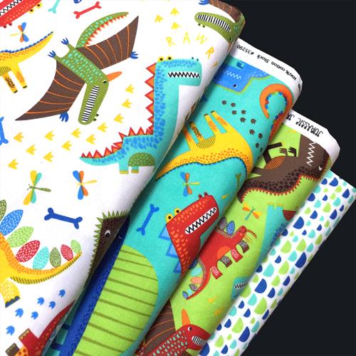 Moda Fabrics Jurassic Jamboree Collection