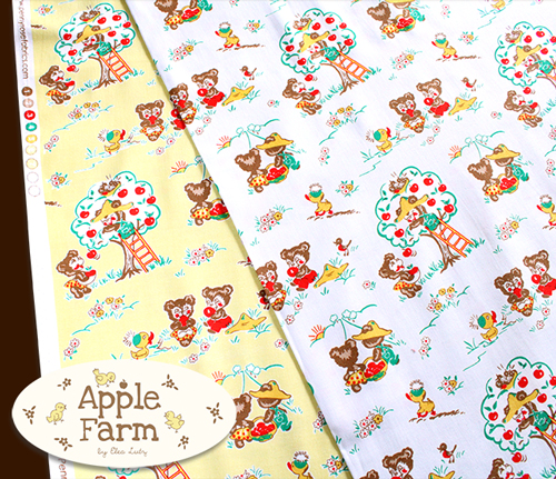 Penny Rose Fabrics Apple Farm C5450