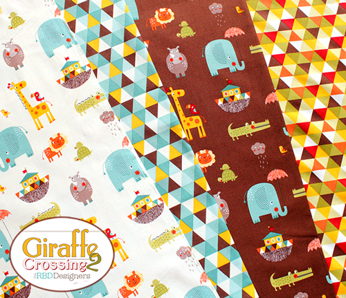 Riley Blake Giraffe Crossing 2