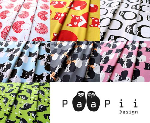 フィンランド PaaPii Design の生地