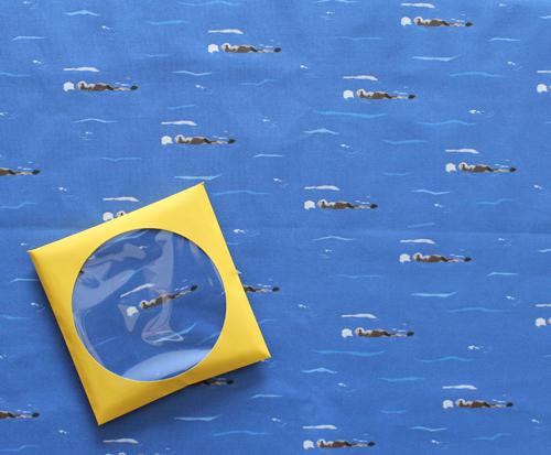 Moso Fabrics Sea Otter カットクロス