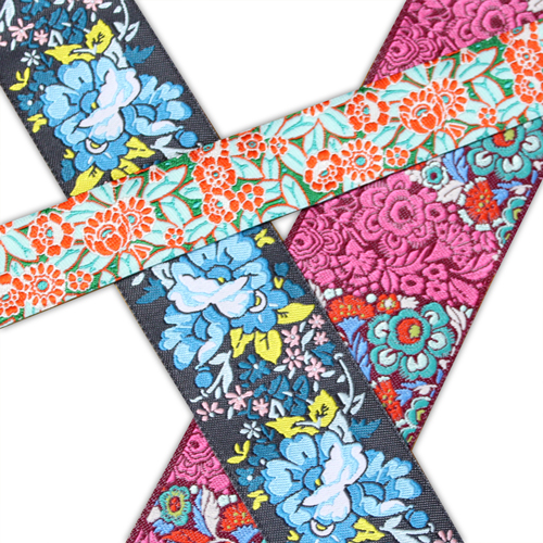 Renaissance Ribbons 花柄リボン