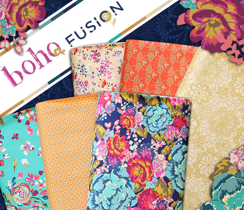 Art Gallery Fabrics Boho Fusion Collection