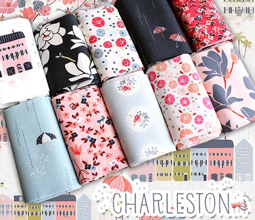 Art Gallery Fabrics Charleston Collection by Amy Sinibaldi