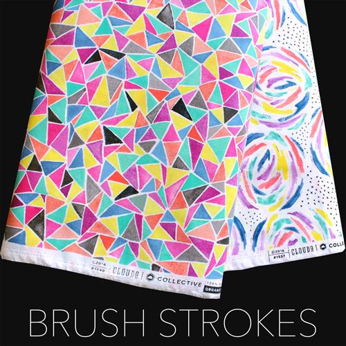 Cloud9 Fabrics Brush Strokes
