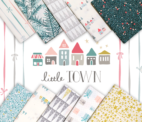 Art Gallery Fabrics Little Town Collection by Amy Sinibaldi