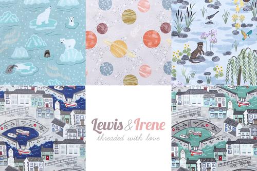 Lewis & Irene(ルイス&アイリーン)イギリス生地