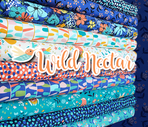 Moda Fabrics Wild Nectar Collection by Crystal Manning