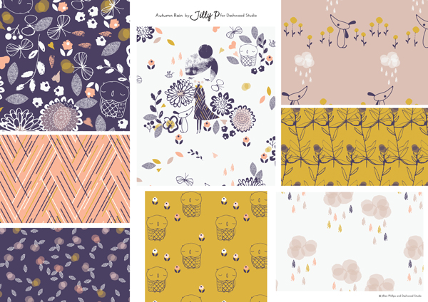 Dashwood Studio Autumn Rain Collection