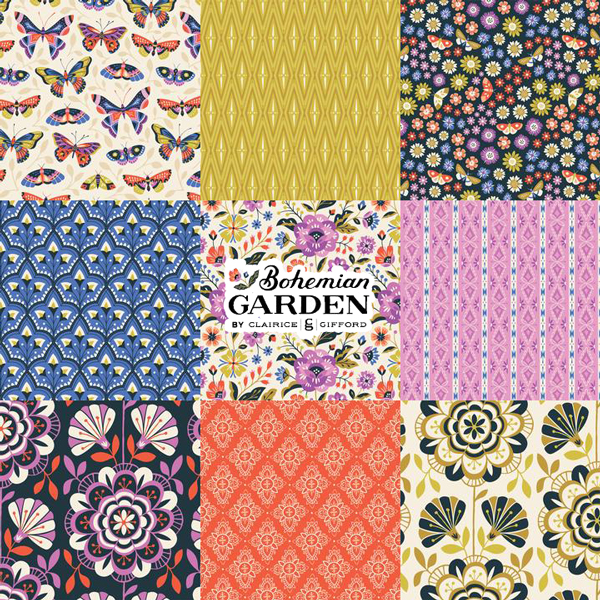 Cloud9 Fabrics - Bohemian Garden Collection
